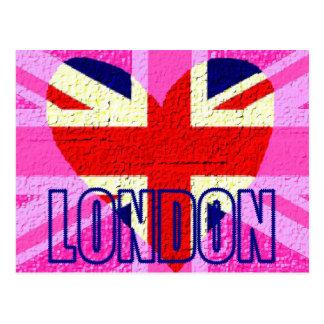 UK flag London Post Card