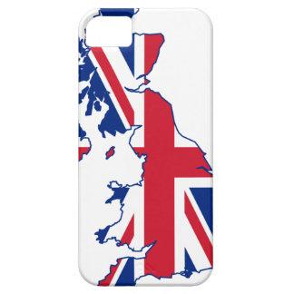 UK Flag Map iPhone 5 Case