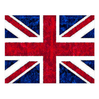 UK FLAG POSTCARD
