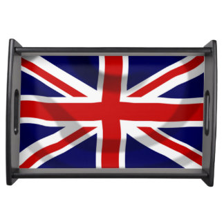 UK Flag Serving Tray