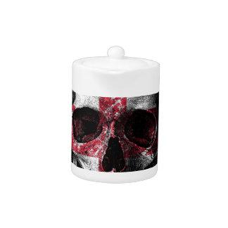 UK flag skull