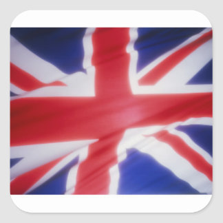 UK FLAG SQUARE STICKER