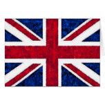 UK FLAG STATIONERY NOTE CARD