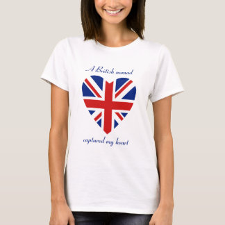 UK Flag Sweetheart T-Shirt