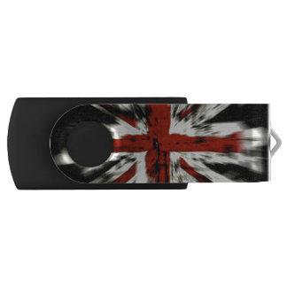 UK Flag Swivel USB 2.0 Flash Drive