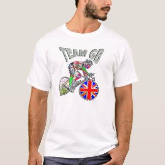 UK flag team GB cycling champions tshirt