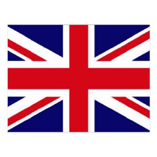 UK flag Union Jack Post Card
