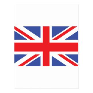 UK flag - united kingdom Postcard