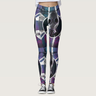 UK Gas Mask Leggings