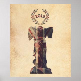 UK Goddess of Victory Poster