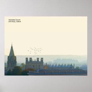 UK landmark images poster