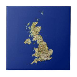 UK Map Tile