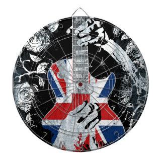 UK Music Guitar Life Dartboard