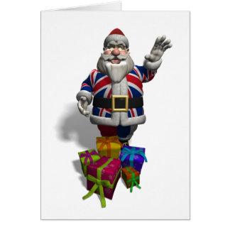 UK Santa Claus Card