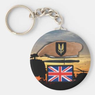 uk special air service sas badge beret veterans key ring