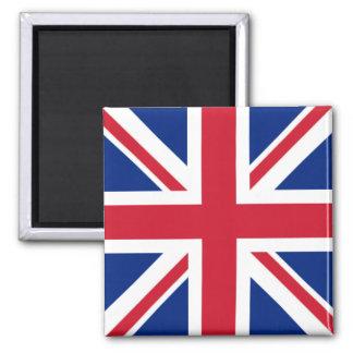 UK Square Magnet - Union Jack