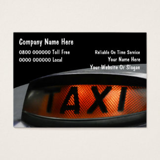 UK Taxi Business Cards
