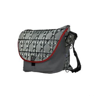 UK Techno-Glass-Art Messenger Commuter Bag