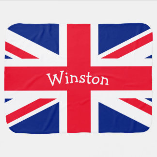 UK Union Jack British Patriotic Flag Pram blankets