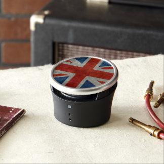 UK Union Jack Flag in retro style vintage textures Speaker