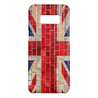 UK Union Jack flag on a brick wall Case-Mate Samsung Galaxy S8 Case