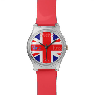 UK Union Jack Flag Watch