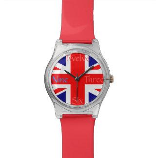 UK Union Jack Flag Wristwatches