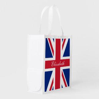 UK Union Jack Personalized Flag