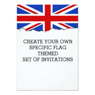Uk United Kingdom Flag Card