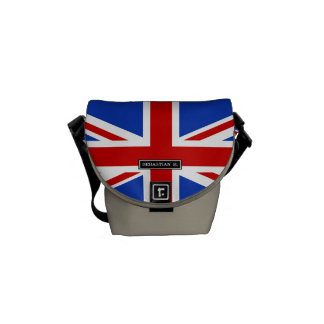 Uk United Kingdom Flag Commuter Bag