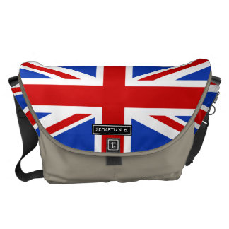 Uk United Kingdom Flag Messenger Bags