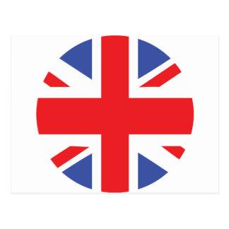 uk united kingdom flag postcard