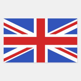 Uk United Kingdom Flag Rectangular Sticker