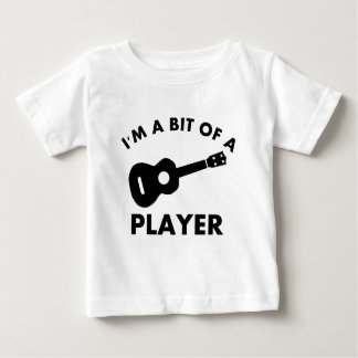 Ukelele musical instrument designs baby T-Shirt