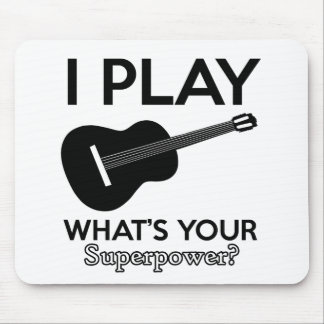 ukelele real designs mouse pad