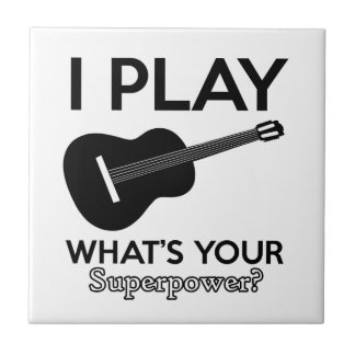 ukelele real designs small square tile