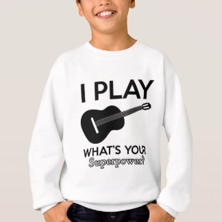 ukelele real designs sweatshirt