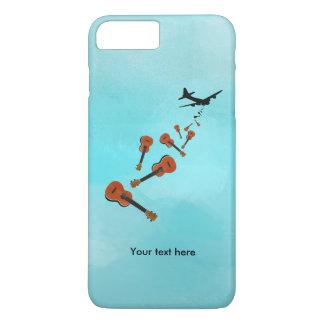 Ukes not nukes Ukulele t-shirt iPhone 7 Plus Case