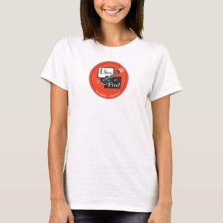 Uke's of Fire Women's Baby Doll T T-Shirt