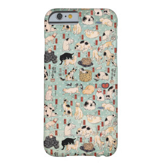 Ukiyo-e Cats by Utagawa Kuniyoshi (1798-1861) Barely There iPhone 6 Case