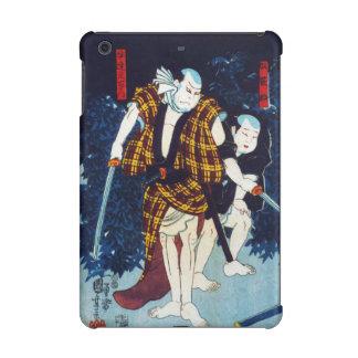 Ukiyo-e Japanese Painting Of Two Kabuki Players iPad Mini Retina Cases