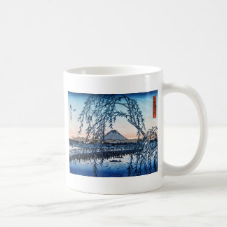 Ukiyo-e Mt. Fuji Japan Coffee Mug