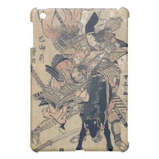 Ukiyo-e Old Japanese Painting Of Two Samurais iPad Mini Cover