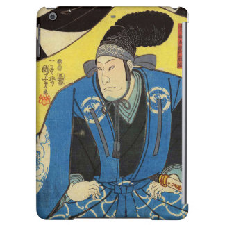 Ukiyo-e Painting Of A Samurai In Yellow Background Case For iPad Air