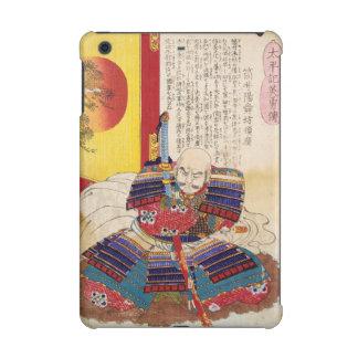 Ukiyo-e Painting Of A Samurai Wearing Armor iPad Mini Retina Cases