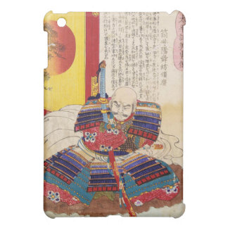 Ukiyo-e Painting Of A Samurai Wearing Armor Case For The iPad Mini