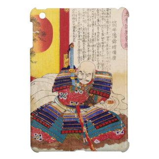 Ukiyo-e Painting Of A Samurai Wearing Armor iPad Mini Cases