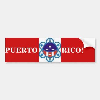 UKL, PUERTO             RICO! BUMPER STICKER