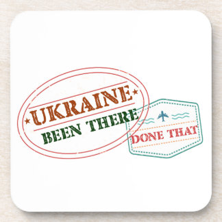 Ukraine Been There Done That Coasters