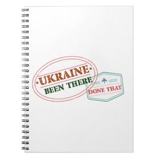 Ukraine Been There Done That Notebook